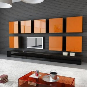 ビトロカラー オレンジ施工例