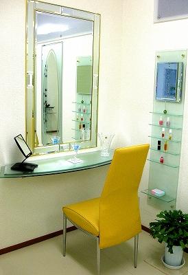 デザイン化粧鏡(パウダーミラー)